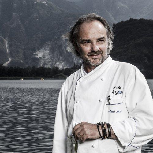 Lo chef bistellato Marco Sacco