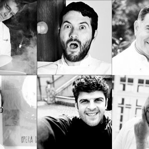 Alessandro Gilmozzi, Giuseppe Iannotti, Salvatore De Riso, Marcello Trentini, Ilario Vinciguerra e Alfredo Russo per Italian Gourmet