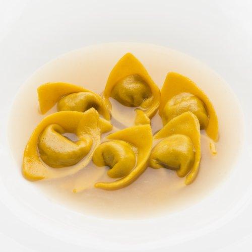 I ravioli di faraona de L'Erba del Re a Italian Gourmet