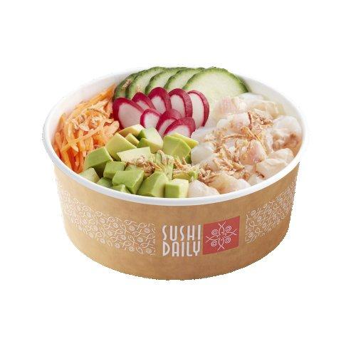 La poke bowl Hamachi & Salsa Ponzu