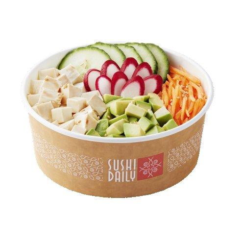 La poke bowl Tofu & Marinata