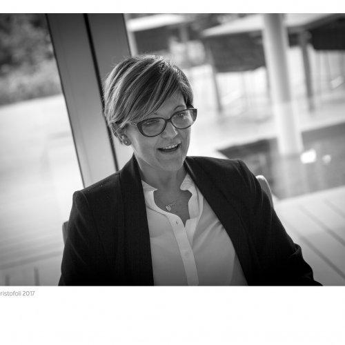 Elisa Franceschini, marketing manager dell'Aqualux di Bardolino