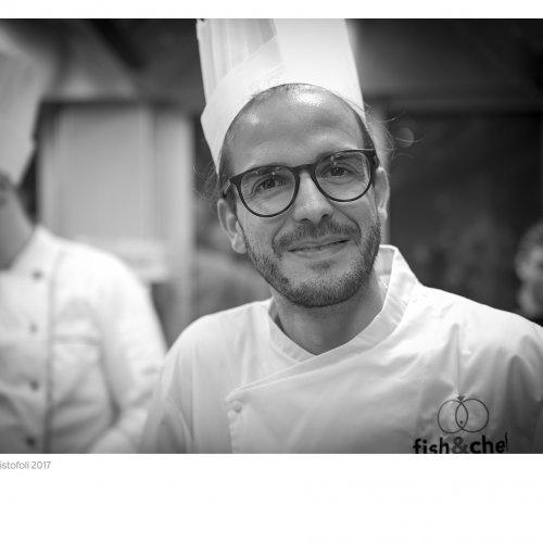 Simone Gottardello, executive chef dell'Aqualux di Bardolino