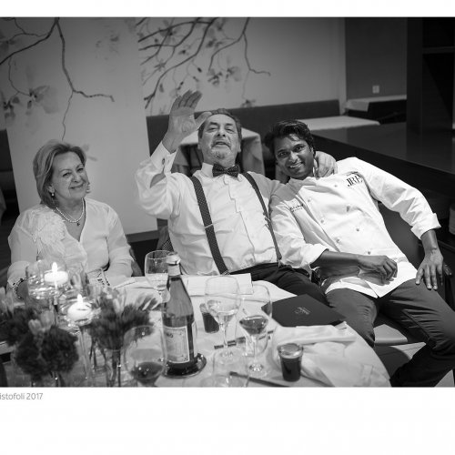 Vinod Sookar a tavola