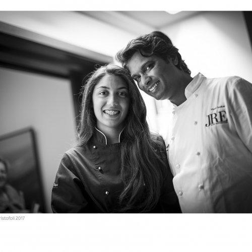 Vinod e la figlia Shamira