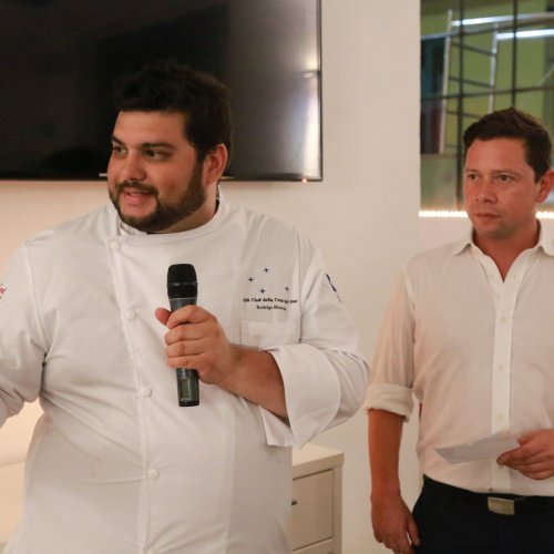 Lo chef Rodrigo Rivarola spiega i suoi piatti