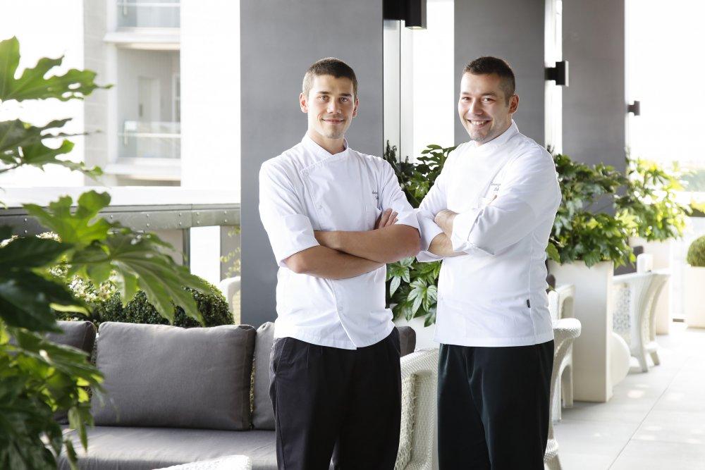 Tre chef in Terrazza (Gallia)