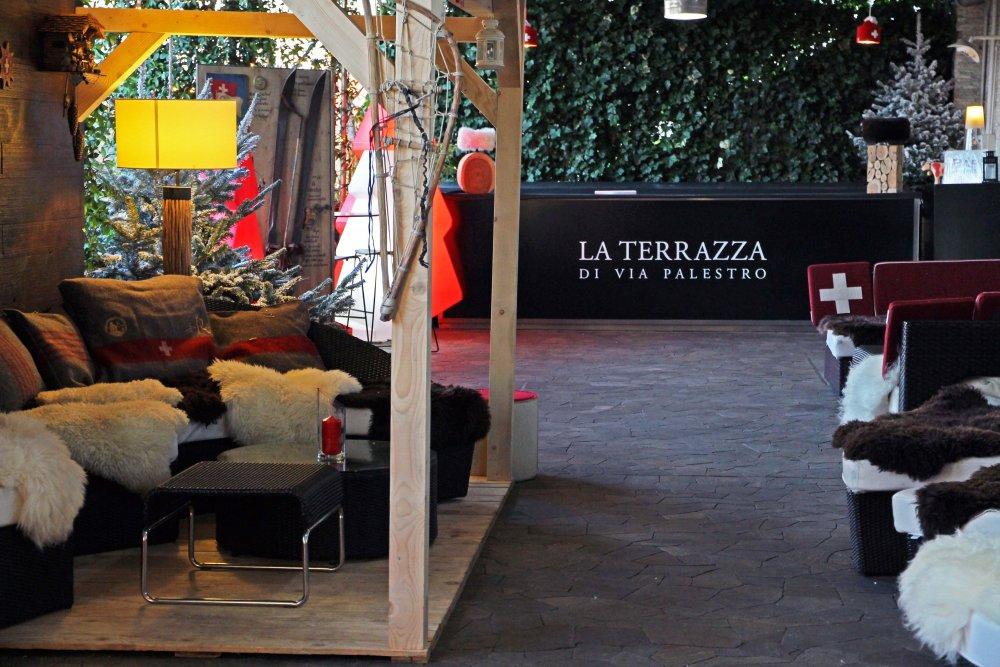 Una baita svizzera… in Terrazza