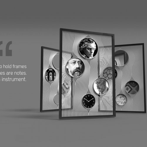 Il primo premio (pari merito) dell'Artzep International Design Award 2016 a Mohamadreza Shahmohamadi 8Iran)