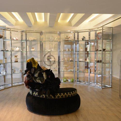 La zona dedicata al design del Museo Zepter Milano