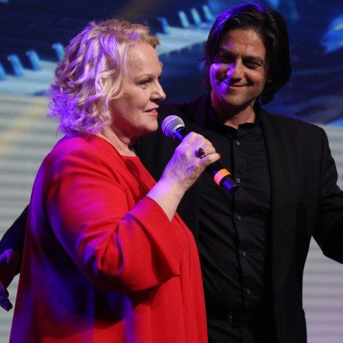 Il soprano Katia Ricciarelli e il tenore Gianluca Paganelli