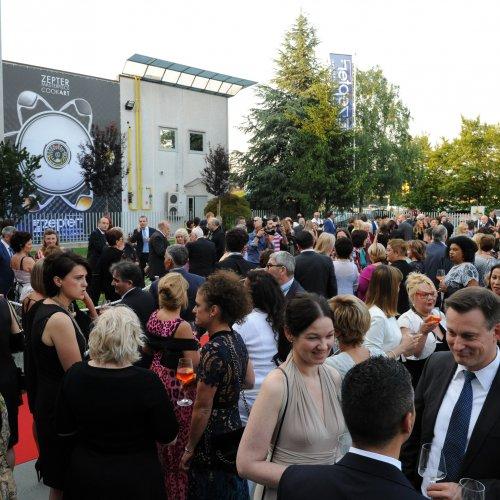 I tanti ospiti della serata d'inaugurazione del Museo Zepter Milano