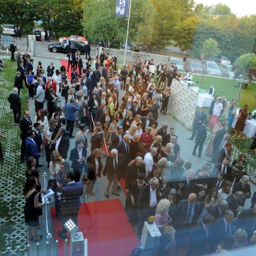 Un momento del grand opening del Museo Zepter Milano