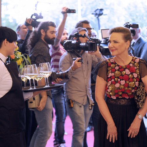 Madame Zepter al grand Opening del Museo Zepter Milano
