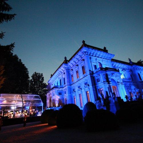 Villa Erba by Night